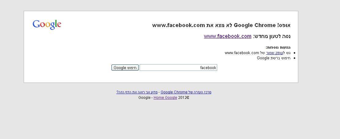 פייסבוק נפל